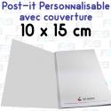 Post-it avec couverture personnalisés 100x150mm