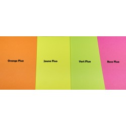 Papier Post-it Fluo